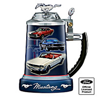 Ford Mustang Commemorative Stein
