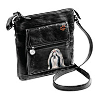 I Love My Shih Tzu Crossbody Bag
