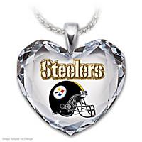 Go Steelers! Pendant Necklace