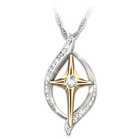 Faith Is Believing Diamond Pendant Necklace