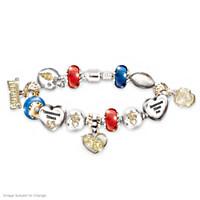 Go Titans! #1 Fan Charm Bracelet