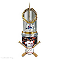 Red Sox 2013 World Series Champions David Ortiz Ornament