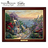 Thomas Kinkade The Village Lighthouse Wall Decor