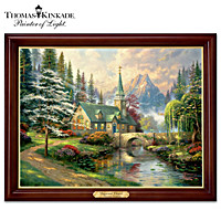 Thomas Kinkade Dogwood Chapel Wall Decor