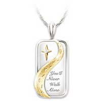 You'll Never Walk Alone Diamond Pendant Necklace