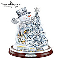 Thomas Kinkade Home For The Holidays Sculpture