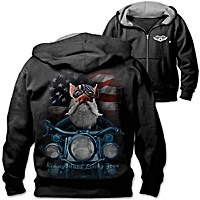 Born To Ride Men's Hoodie