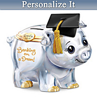 Banking On A Dream Personalized Piggy Bank