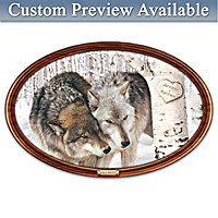 Soul Mates Personalized Masterpiece Framed Plate