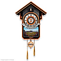 San Francisco Giants Cuckoo Clock