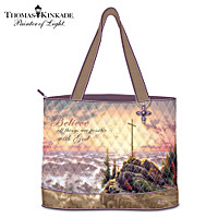 Thomas Kinkade Believe Tote Bag
