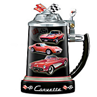 Chevy Corvette Commemorative Stein