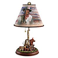 John Wayne: Straight Shooter Lamp
