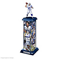 Andrew Luck: Legend In Action Sculpture