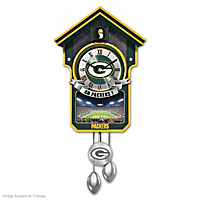 Green Bay Packers Cuckoo Clock