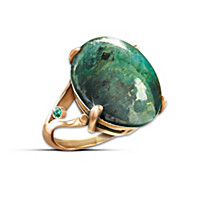 Emerald Legend Ring