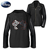 Disney Leather And Lace Women's Jacket