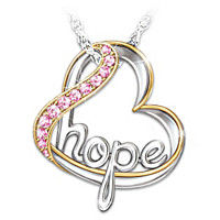 Heart Of Hope Pendant Necklace