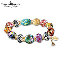 Thomas Kinkade Colors Of Paris Bracelet