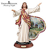 Thomas Kinkade Journey Of Faith Sculpture