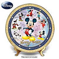 Timeless Treasures: Mickey Mouse Masterpiece Collector Plate