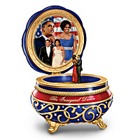 Barack And Michelle: The Inaugural Dance Music Box