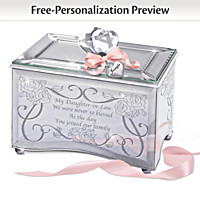 My Daughter-In-Law, I Love You Personalized Music Box