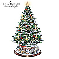 Thomas Kinkade The Heart Of Christmas Tabletop Tree