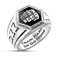 Undisputed Warrior MMA Ring