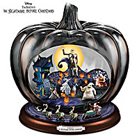 Disney The Nightmare Before Christmas Pumpkin Sculpture