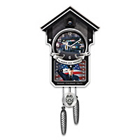 Serve And Protect Cuckoo Clock