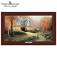 Thomas Kinkade Autumn Blessings Wall Decor