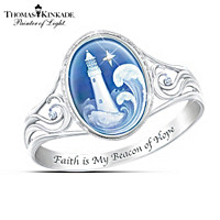 Thomas Kinkade Waves Of Hope Ring
