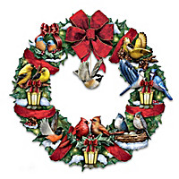 Merry Melodies Wreath