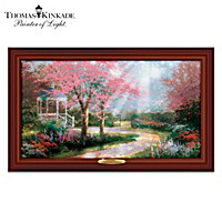 Thomas Kinkade Dogwood Sunrise Wall Decor
