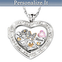 Collectible Charms Personalized Pendant Necklace