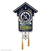 Moments Of Greatness: The New York Yankees Cuckoo Clock