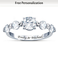 Romance Personalized Ring