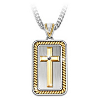 Strength In God Pendant Necklace