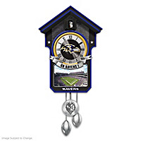 Baltimore Ravens Cuckoo Clock