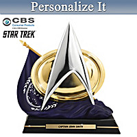 To Boldly Go Personalized Sculpture