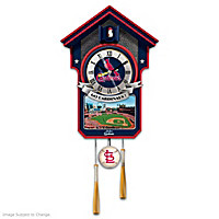 Moments Of Greatness: St. Louis Cardinals Cuckoo Clock