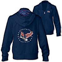Star Spangled Sparkle Women's Hoodie