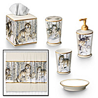 The Pride Of The Pack Bath Accessories Set