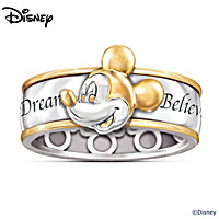 Dream, Wish, Believe Ring