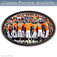 Going The Distance Denver Broncos Personalized Wall Decor