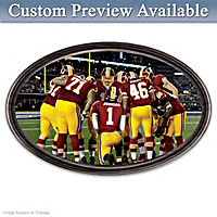 Going The Distance Redskins Personalized Wall Decor
