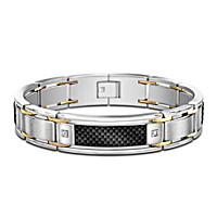 Dressed To Thrill Diamond Men's Bracelet