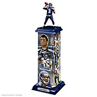 Russell Wilson: Legend In Action Sculpture