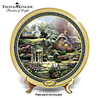 Thomas Kinkade Faith, Hope And Love Collector Plate